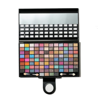 Aili kiss 100 färger Shine Cream Eye Shadow Set