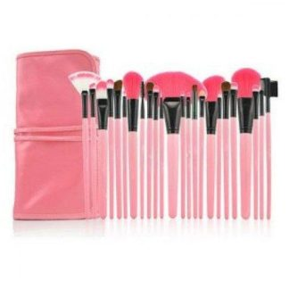 Lilyz Pink Brush Set 24 st. sminkborstar