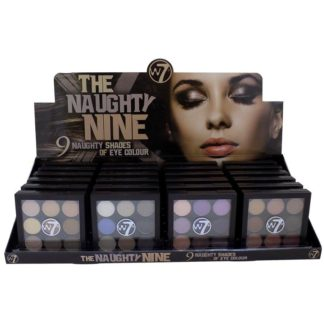 W7 The Naughty Nine - 9 Naughty Shades Of Eye Colour