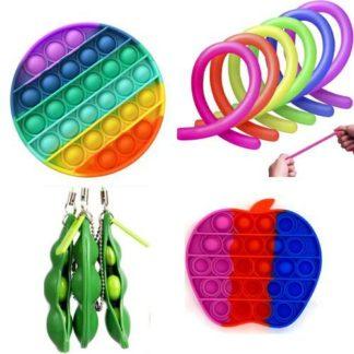 11 st. Fidget Toys Set för barn och vuxna