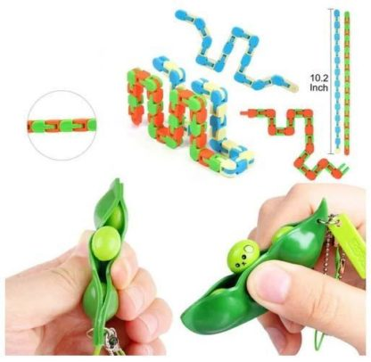 24st. Fidget Toys Set för barn och vuxna