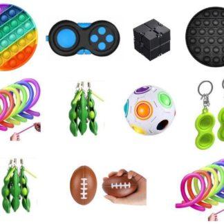 PRO set - 26 st. Fidget Toys Set för barn och vuxna