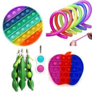 12 st. Fidget Toys Set för barn och vuxna