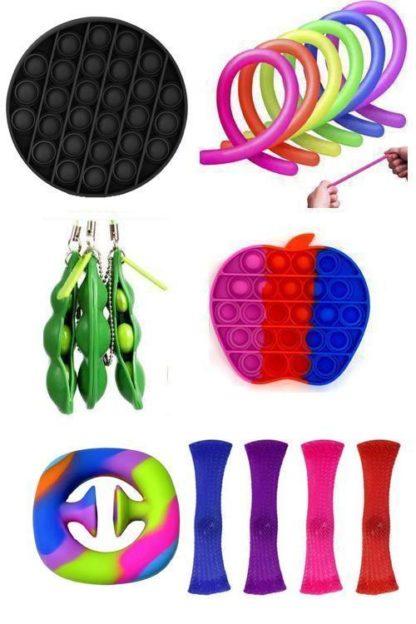 16 st. Fidget Toys Set för barn och vuxna