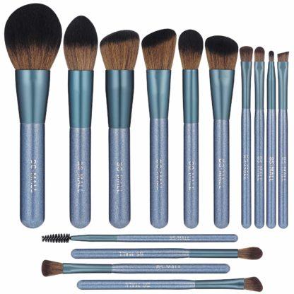 BS03 - BS-MALL 14 st. exklusiva Make-up / sminkborstar av Bästa Kvalité