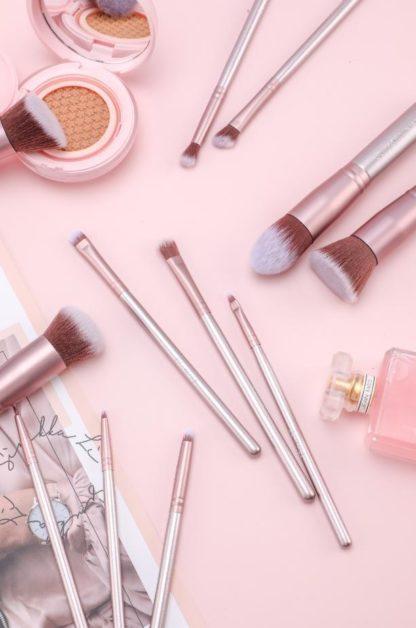 BS02 - BS-MALL 14 st. exklusiva Make-up / sminkborstar av Bästa Kvalité