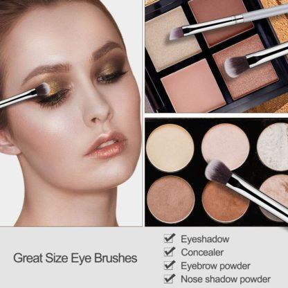 BS04 - BS-MALL 14 st. exklusiva Make-up / sminkborstar av Bästa Kvalité