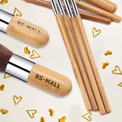 BS09 - BS-MALL 11 st. exklusiva Make-up / sminkborstar av Bästa Kvalité