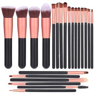 BS14 - BS-MALL 22 st. exklusiva Make-up / sminkborstar av Bästa Kvalité
