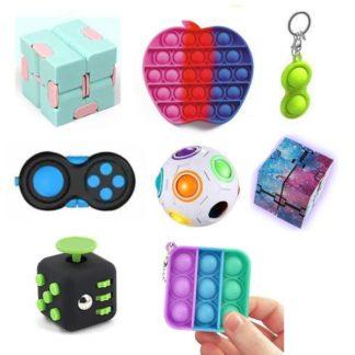 PRO set - 8 st. Fidget Toys Set för barn och vuxna NYHET