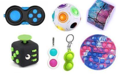 PRO set - 7 st. Fidget Toys Set för barn och vuxna NYHET