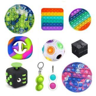 New PRO set - 10 st. Fidget Toys Set för barn och vuxna NYHET