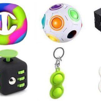 PRO set - 6 pack Fidget Toys Set för barn och vuxna NYHET