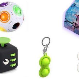 PRO set - 5 pack Fidget Toys Set för barn och vuxna NYHET