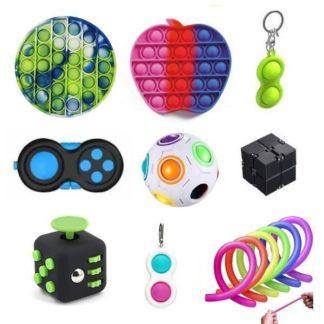 PRO set - 14 st. Fidget Toys Set för barn och vuxna NYHET