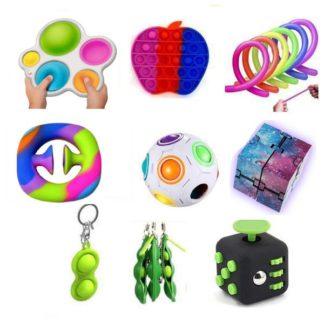 PRO set - 15 st. Fidget Toys Set för barn och vuxna