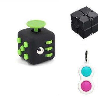 PRO set - 3 pack Fidget Toys Set för barn och vuxna NYHET