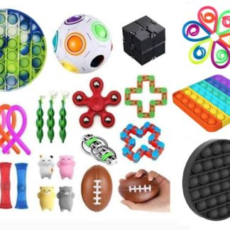 38st Fidget Pop it Toys Set pack för barn och vuxna