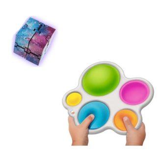 PRO set - 2 pack Fidget Toys Set för barn och vuxna