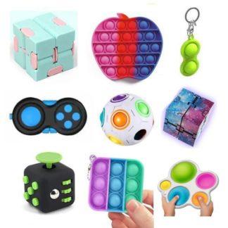 PRO set - 9 st. Fidget Toys Set för barn och vuxna NYHET