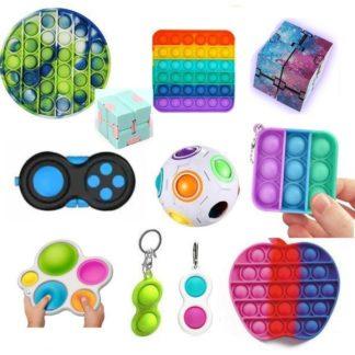 New PRO set - 11 st. Fidget Toys Set för barn och vuxna NYHET